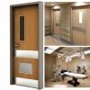 درب های بیمارستانی
